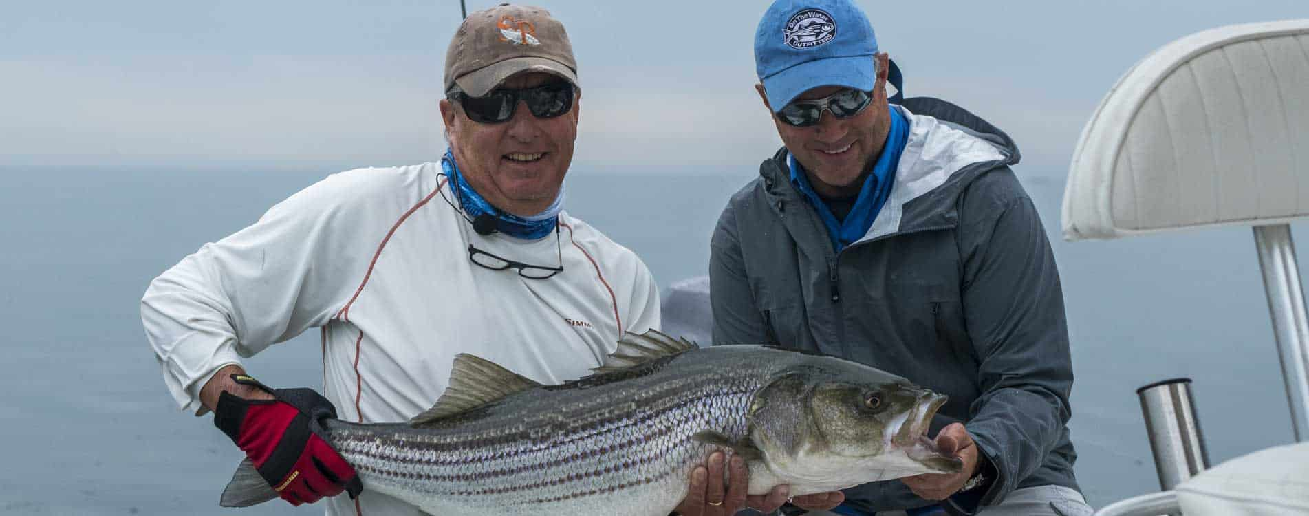 We fish primarily for larger Striped Bass and Schoolies